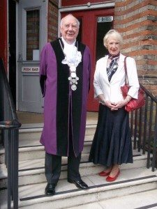 10 Town Reeve of Bungay  Michael Davies & Mrs Maureen Davies