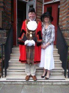 14 Mayor of St Edmundsbury  Cllr Robert Everitt & Mrs Dianne Everitt
