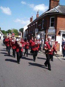 15 Gislingham Silver Band