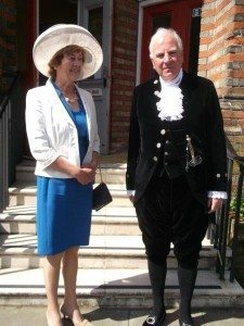 6 High Sheriff of Suffolk Nick Wingfield-Digby and Mrs Delia Wingfield-Digby
