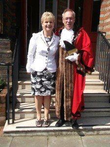 8 Mayor of Woodbridge Cllr Geoff Holdcroft & Mrs Yvonne Holdcroft
