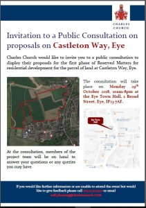 Castleton Way, Consultation