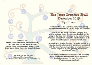 Jesse Tree Art Trail flyer for webemail