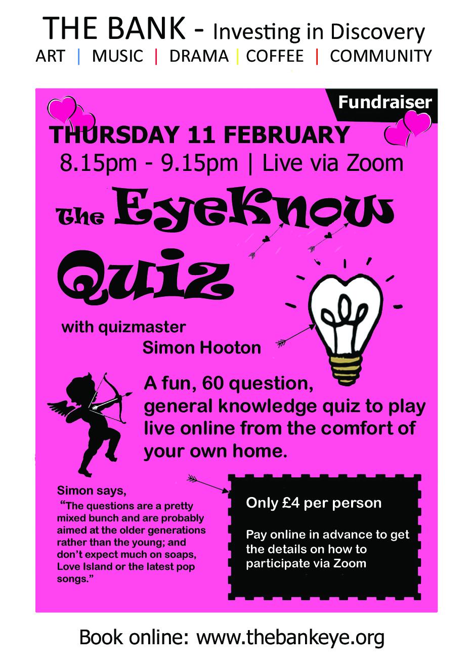 The EyeKnow Quiz 11th February